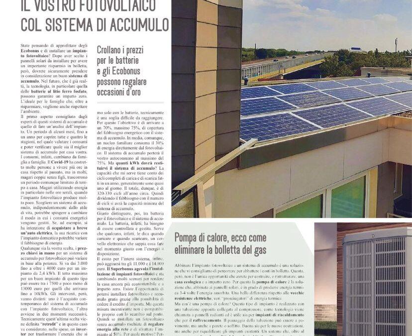 I consigli per unire il fotovoltaico con sistema di accumulo